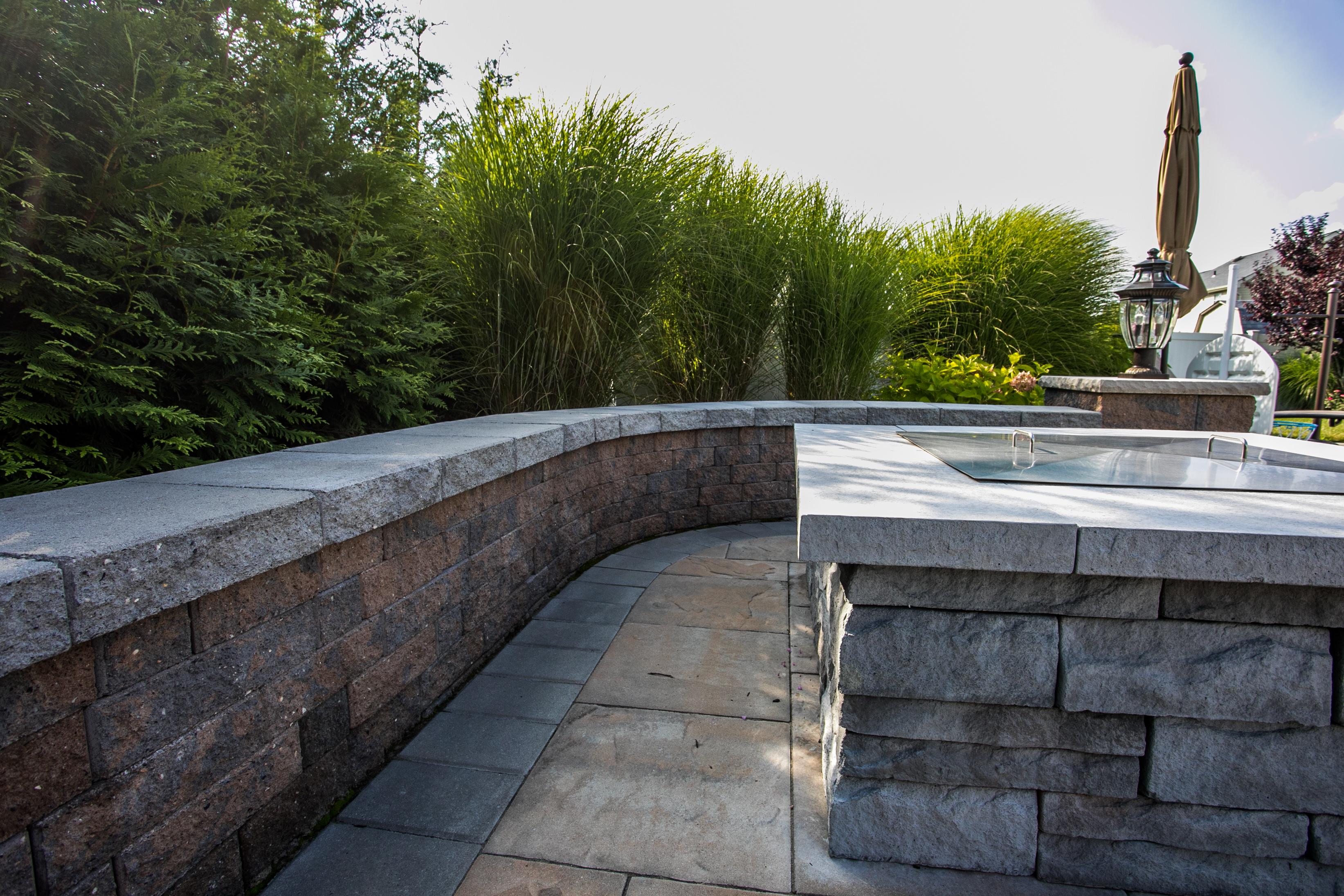 Landscape Design Ideas For Stone Walls Stone Walls Landscapes